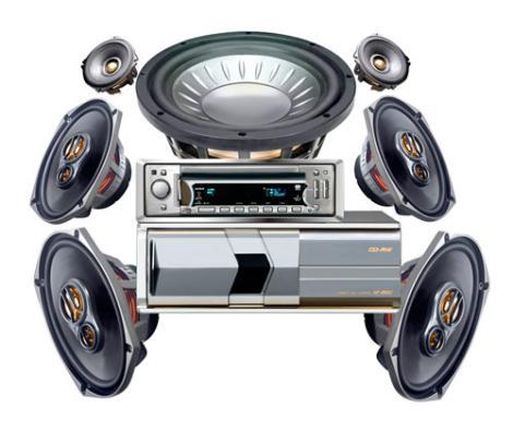 sistema de audio - amortiguadores bogota car center service