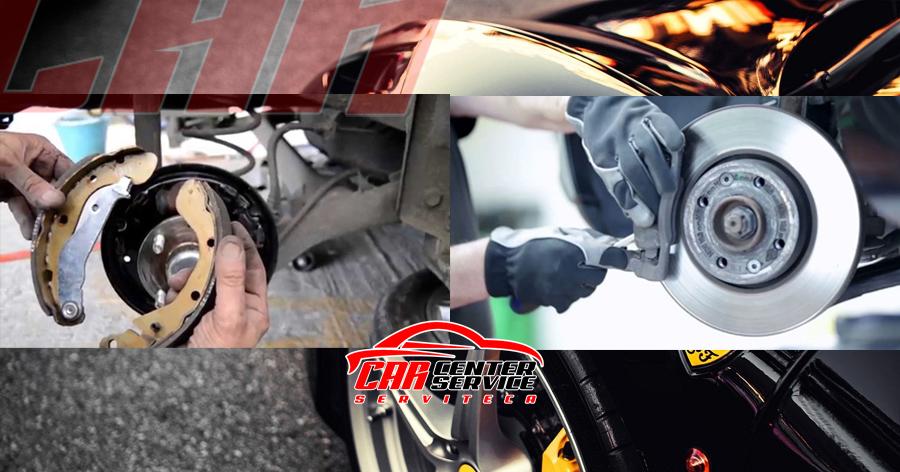 cambio de frenos - amortiguadores bogota car center service